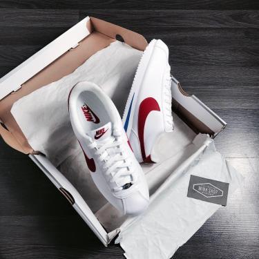 Hàng Chính Hãng  Nike Classic Cortez White/ Red/Blue **2020**