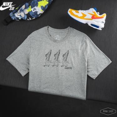 Hàng Chính Hãng Áo Thun Nike SB Grey 2020**