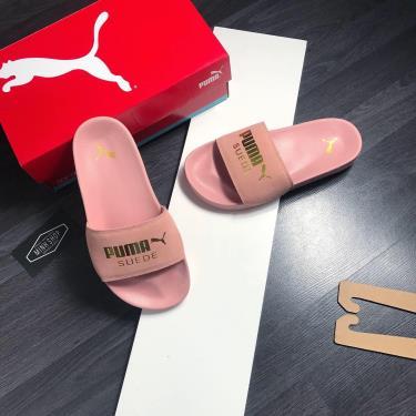 Flash deal 50% Hàng Chính Hãng Dép Puma Suede Leadcat Sandals Raw Pink Y 2020**