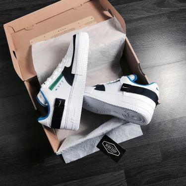 Hàng Chính Hãng Nike Air Force 1 Type White/ Blue/Green 2020**