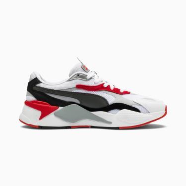 Hàng Chính Hãng Puma RS-X3 Puzzle Trainers White/Red/Grey 2020**
