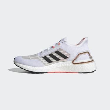 Hàng Chính Hãng Adidas Ultra Boost 6.0 Summer.RDY White Signal Pink 2020**