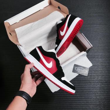 🛑 NEW SEASON 🛑 Giày Nike Air Jordan 1 Low 'Gym Red Black' [O] **[DC0774-016]