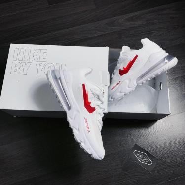 Hàng Chính Hãng Nike Air Max 270 React Just Do It White/Red **2020**