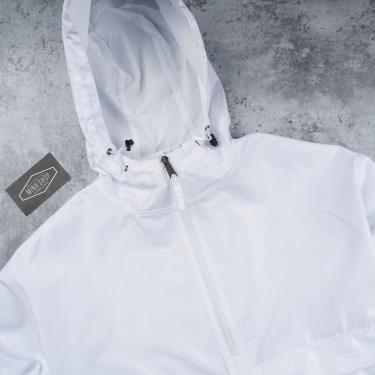 Hàng Chính Hãng Áo Khoác Champion Packable Jacket Triple White Basic  2021**