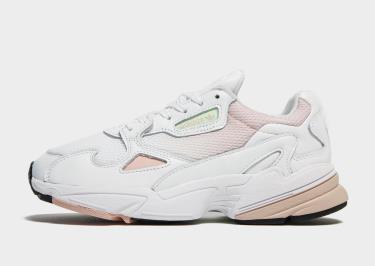 Hàng Chính Hãng Adidas Falcon White/Light Pink 2019**
