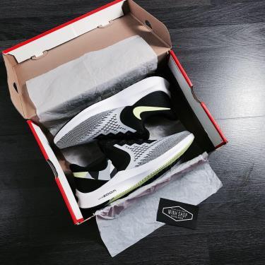Hàng Chính Hãng Nike Air Zoom Winflo 6 Grey/Black/Neon 2019**