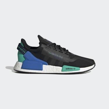 Hàng Chính Hãng Adidas NMD R1 V2 'Black Cyan' 2021** [FY5922]