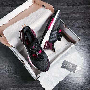 Hàng Chính Hãng Adidas Ultra Boost 6.0 Black/pink 2020**