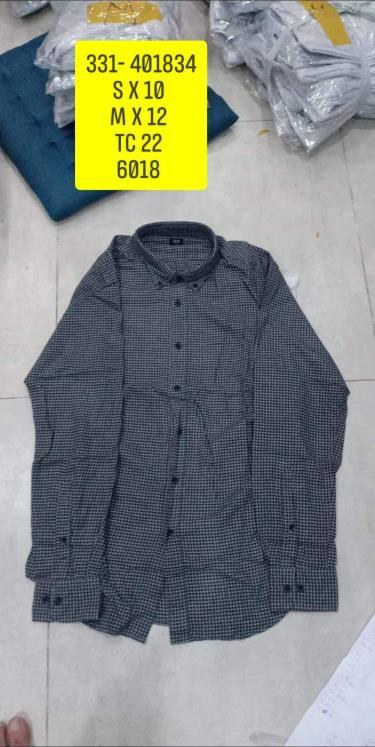 Hàng Chính Hãng Áo Uniqlo Flannel Long Sleeve Shirt Dark Grey Caro 2020**