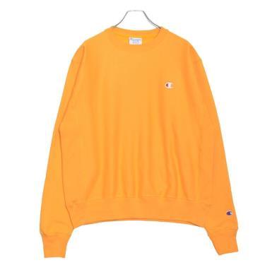 Hàng Chính Hãng Áo Sweater Champion Reverse Weave Crew Yellow 2020**