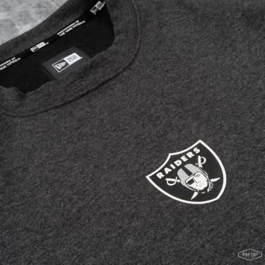 🍀 2 SIZE LAST 🍀 Áo Thun New Era Raiders Grey