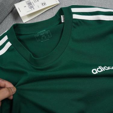 Hàng Chính Hãng Áo Thun Adidas Ess 3 Stripes Green 2020**