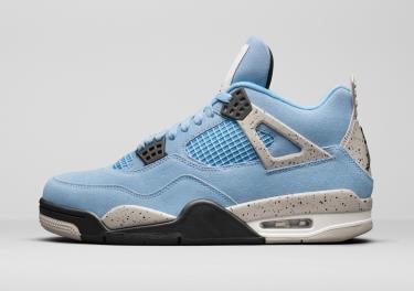 Hàng Chính Hãng Nike Air Jordan 4 University Blue 2021**