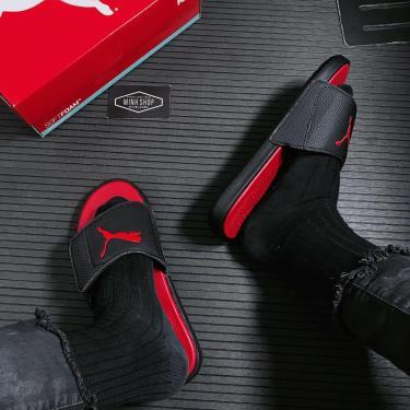 Hàng Chính Hãng Dép Puma Slides Triple Red/Black NEW 2021**