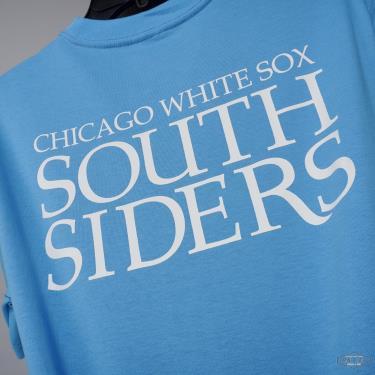Hàng Chính Hãng Áo Thun New Era Super Big Fan Chicago White Sox T-shirt  Blue 2021**