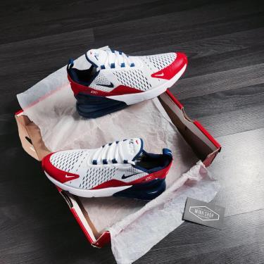Hàng Chính Hãng Nike Air Max 270 White/Red/Blue 2020**