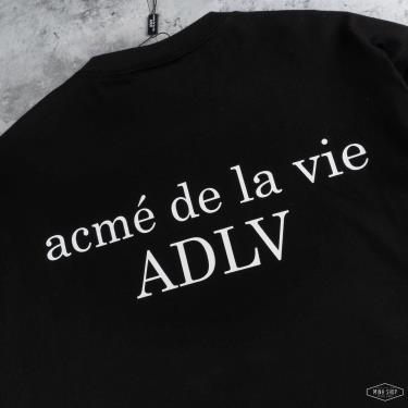 📫 HOT TREND 📫  Áo Thun ADLV Basic Black ** (S = S M mang vừa) [adlv 19ss-ssbnl2-blk]