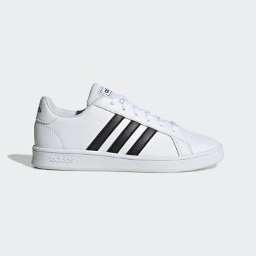 Hàng Chính Hãng Adidas Grand Court White/Black 2021**