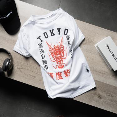 Hàng Chính Hãng Áo Thun Superdry Urban Varsity Tokyo Graphic White 2020** ZZZ