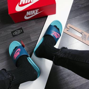 Hàng Chính Hãng Dép Nike Benassi JDI Slide 'Teal Nebula' 2021**