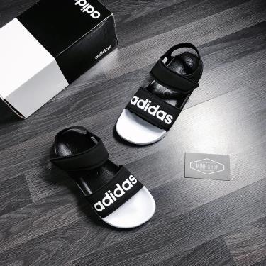 FLASH DEAL  50% Hàng Chính Hãng Adidas Adilette Sandal Black White  2020**