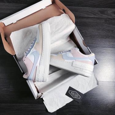 Hàng Chính Hãng Nike Air Force 1 Shadow Macaroon Candy 2020**