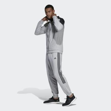 Hàng Chính Hãng Quần Jogger Adidas Grey Black 2020**