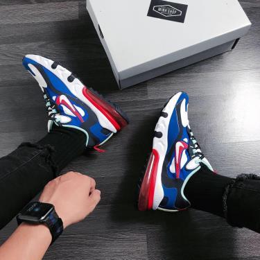 Hàng Chính Hãng Nike Air Max 270 React Blue Red White 2020**
