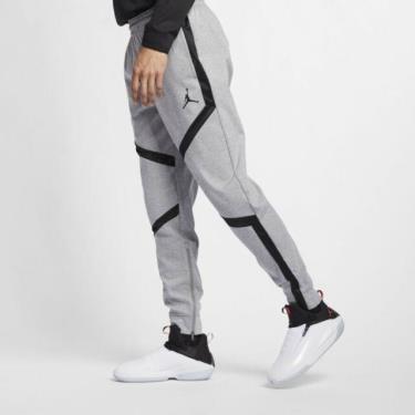 Hàng Chính Hãng Quần Nike Jordan Baseketball Pants Retro Jumpman Grey Black 2020**