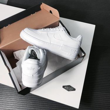 Giày Air Force 1 Shadow All White [CI0919 100]