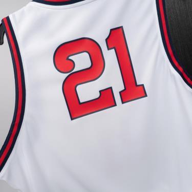 Hàng Chính Hãng Áo Nike Tank Top Basketball RIO Jersey White/Red *2021**