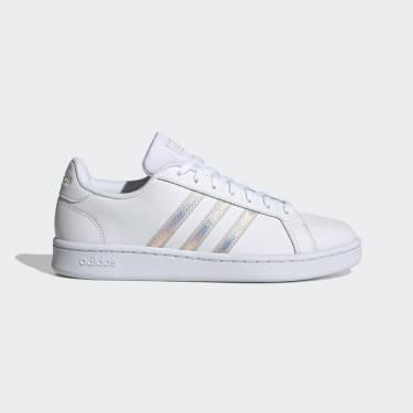Hàng Chính Hãng Adidas Grand Court Cloud White / Aluminium 2021**