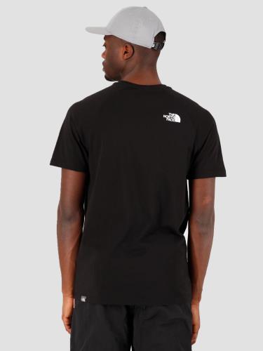 Hàng Chính Hãng Áo Thun The North Face Short Sleeve Raglan Black * 2020 *