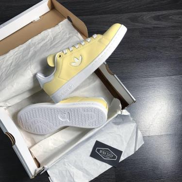 Hàng Chính Hãng Adidas  Stan Smith 'Easy Yellow' 2020**