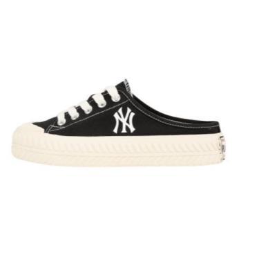 Hàng Chính Hãng MLB PlayBall Origin Mule York Yankees Shoes Black 2020**