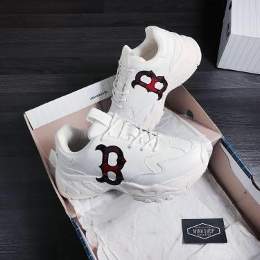 Giày MLB Big Ball Chunky Check Boston Red Sox Sneaker [32SHCC011 43W]