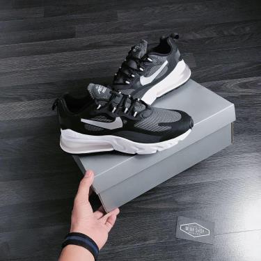 Hàng Chính Hãng Nike  Air Max 270 React Black /Metallic Silver  **2020**