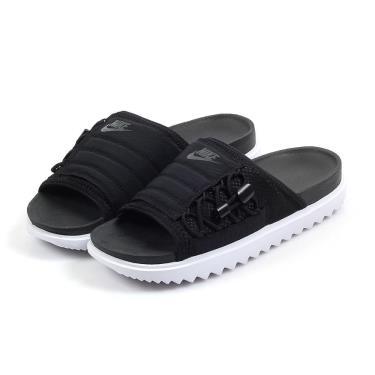 Minhshop.vn - Dép Nike Asuna Slide 'Black White' [CW9707-002] [O]