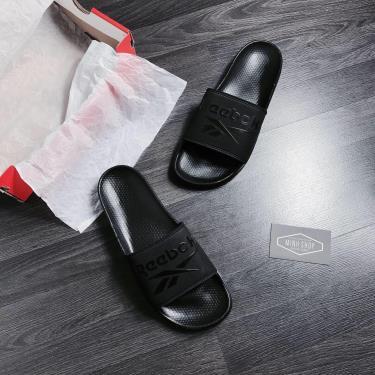 Hàng Chính Hãng Dép Reebok   Classic Slide All Black 2020**