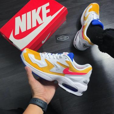 Hàng Chính Hãng Nike Air Max 2 Light White / Yellow 2020**