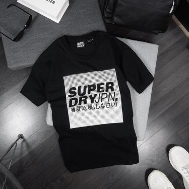 Hàng Chính Hãng Áo Thun Superdry Japan Black 2020** ZZZ