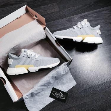 Hàng Chính Hãng Adidas POD S31 Grey / Yellow 2020**
