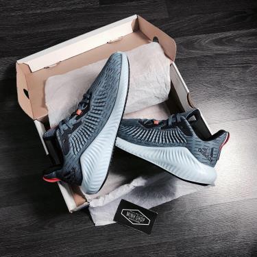 Hàng Chính Hãng Adidas Alphabounce Plus Blue Orange 2020**