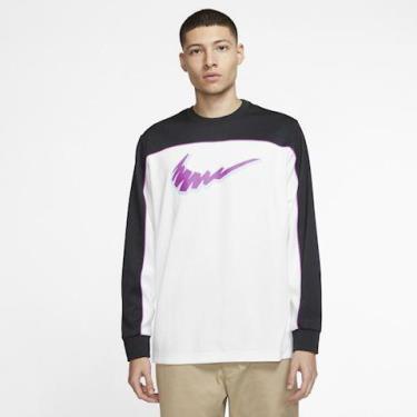 Hàng Chính Hãng Áo Sweater Nike Dri-fit Black/White/Purple 2020**