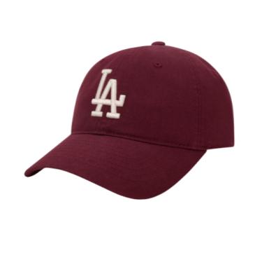 Hàng Chính Hãng Nón MLB Cover Ball LA Dodgers Burgundy **2020**