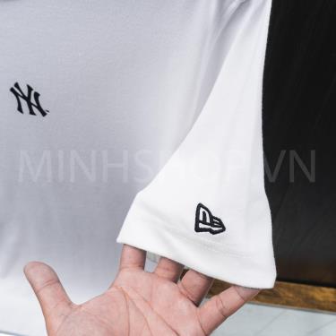 Áo Thun New Era White /Black Logo NEW YORK ** [12354539]