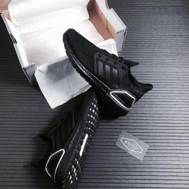 50% STEAL Hàng Chính Hãng Adidas Ultra Boost 6.0 Black Silver 2021** V