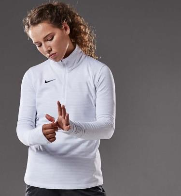 Hàng Chính Hãng Áo Thun Nike Women Dry 1/2 Zip Pullover NEW 2021**