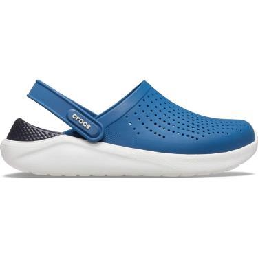 Hàng Chính Hãng Dép Crocs Literide Clog Blue/Black 2020**
